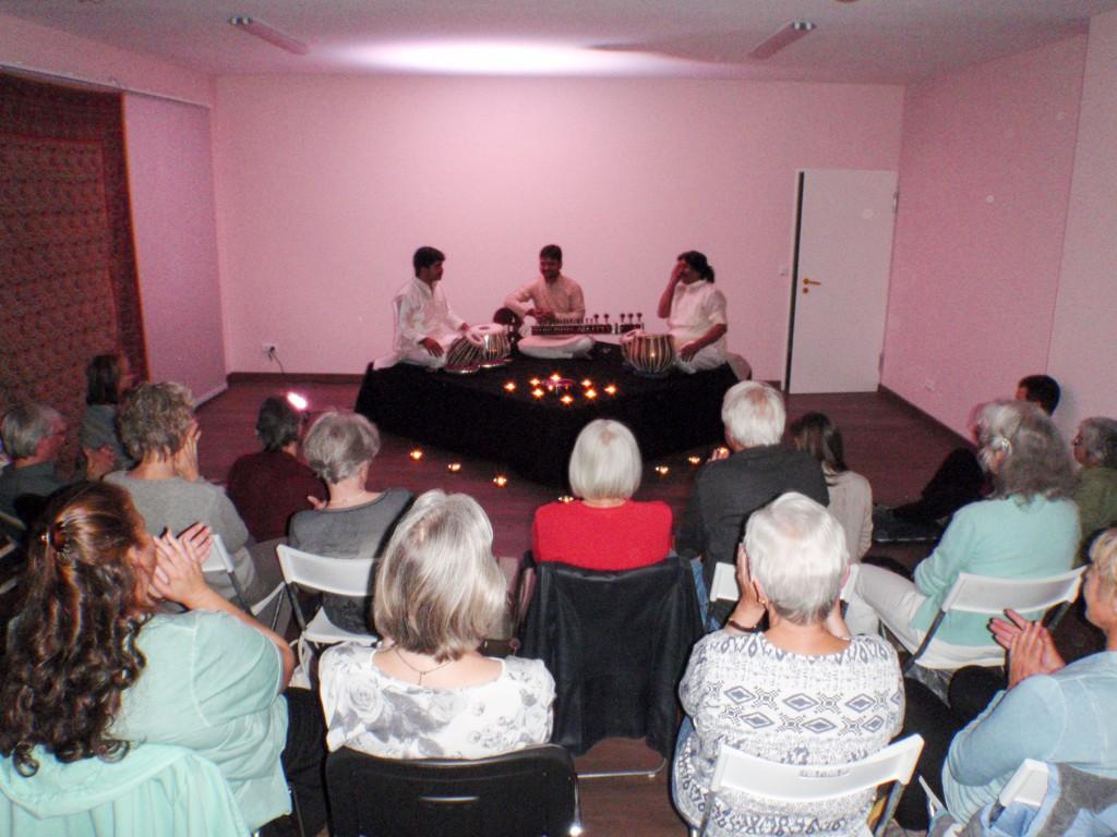Indisches Konzert im Yogazentrum Ashausen